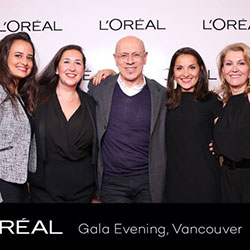 L'OREAL Gala Evening – Vancouver 2015