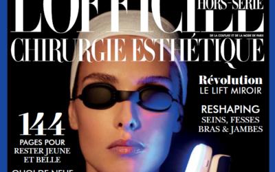 Focus sur la cellulite dans la presse : interview pour l'Officiel Chirurgie Esthétique. (Hors-série)